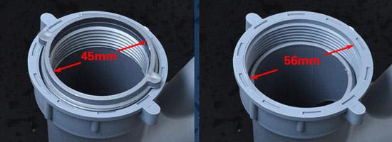 由于同一品牌水槽的下水管基本都是相同材质和外形的,所以